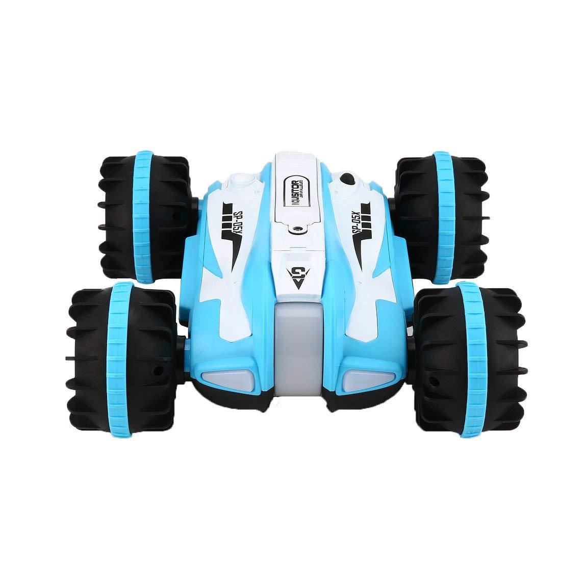 Footprintes YED 1804 1:12 2,4 GHz 10 km / h Amphibien Stunt RC Auto 360 Grad Rotation Fahrzeug RC Auto Spielzeug für Kinder Geschenk