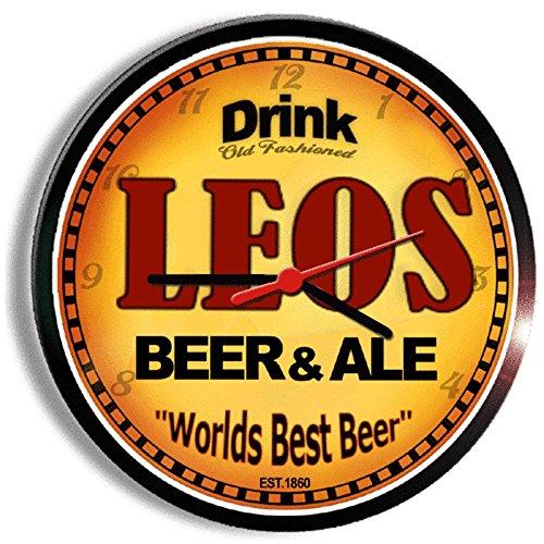 leos-beer-and-ale-cerveza-wall-clock