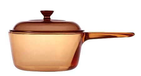 VISIONS Visiones 1.5L Cacerola con Mango y Tapa