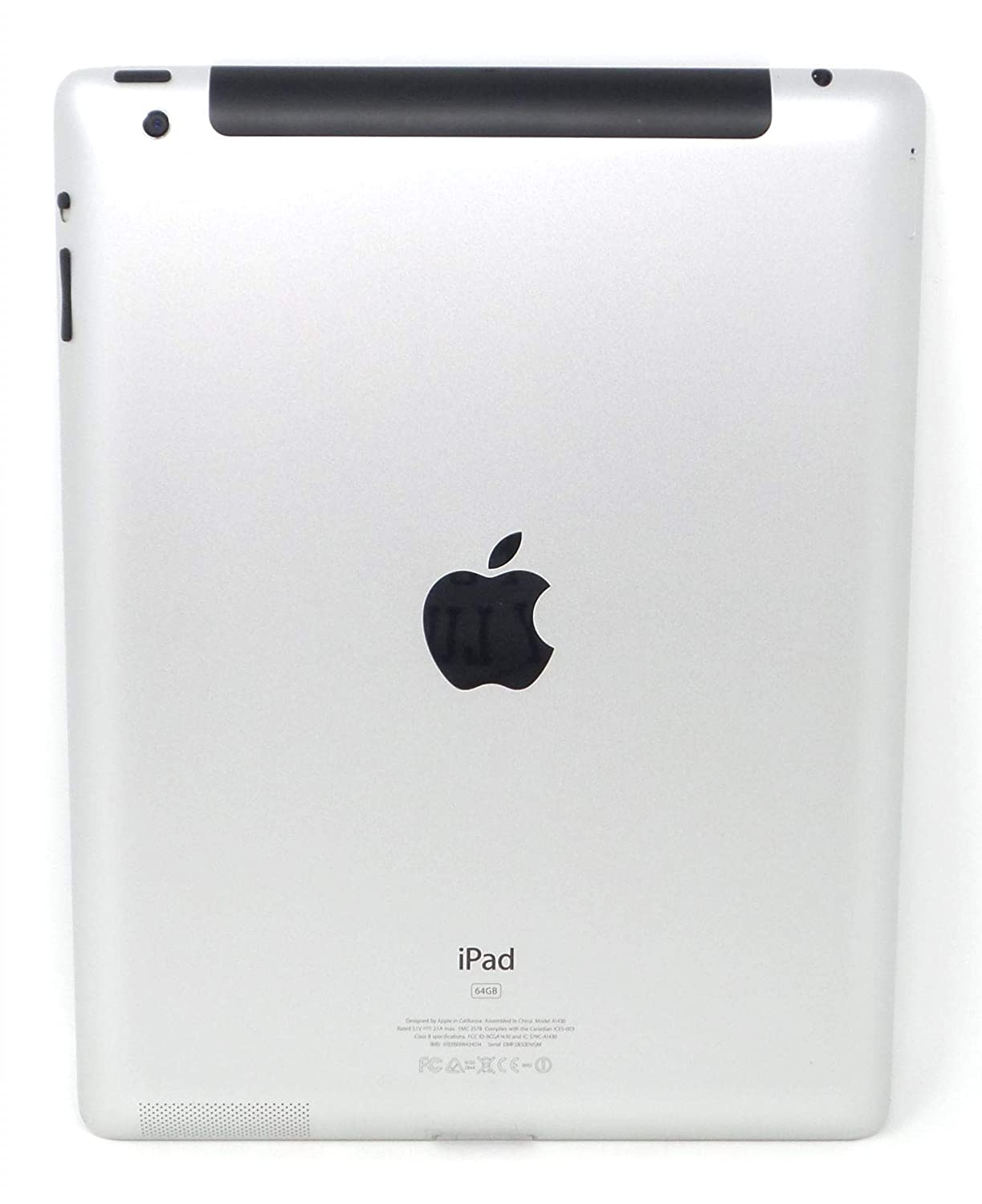 Apple iPad MD328LL/A (16GB, Wi-Fi, White) 3rd Gen (Renewed)
