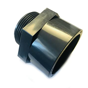 PVC  Übergangsmuffe 32 mm Klebemuffe innen mit Außengewinde 1 Zoll Fitting