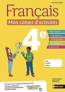 Amazon Fr Francais Mon Cahier D Activites 3e Anne