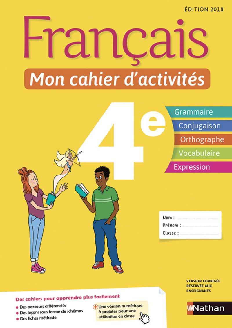 Amazon Fr Francais Mon Cahier D Activites 4e