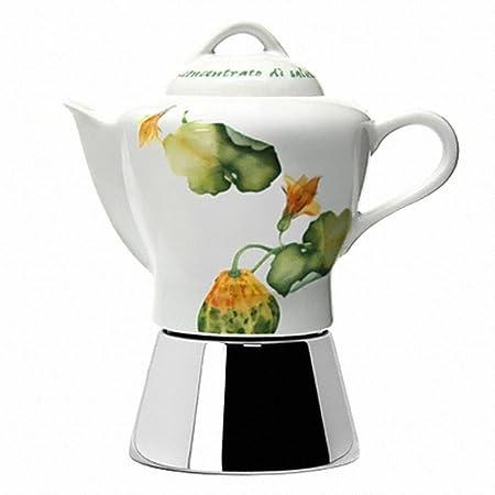 AnCAP Nicole - Cafetera de café con 4 tazas, diseño de moca ...
