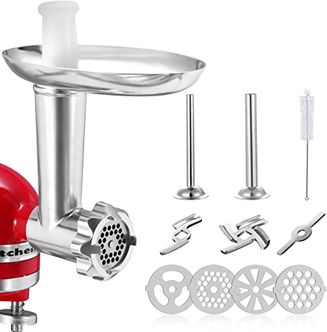 Meat Grinder Sausage Stuffer Attachment For KitchenAid Stand Mixers Accessories