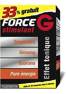 NUTRISANTE - Nutrisanté Force G Stimulant 20 Ampoules de 10ml