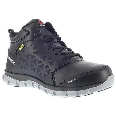 030cfd5bae1132 Amazon.com  Reebok Men s Sublite Met Guard Work Boot Alloy Toe - Rb4143   Shoes