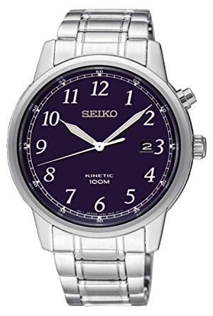 045e36f3e Image Unavailable. Image not available for. Color: Seiko Mens Kinetic Watch  ...