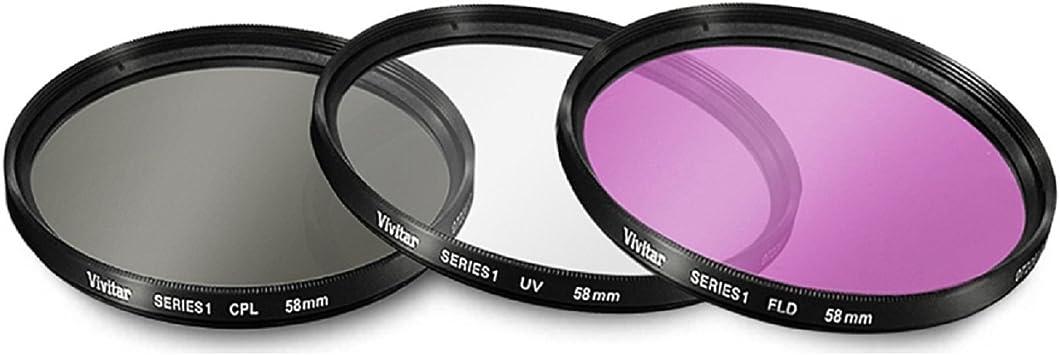 58mm 2.2X Telephoto Lens Deluxe Lens Kit for Canon Vixia HFG10 ...