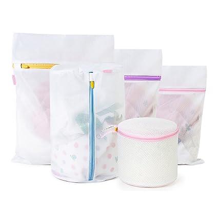 irainbow bolsas de lavandería de malla ropa delicada Super Premium calidad de malla bolsa de lavado