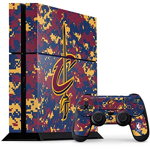 Skinit Cleveland Cavaliers PS4 Console and Controller Bundle Skin - Cleveland Cavaliers Digi Camo | NBA Skin by Skinit