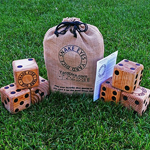 Snake Eyes Yard Dice, Active Play Set, Educational Toys, 2017 Christmas Toys by ACTIVE-PLAY-SET