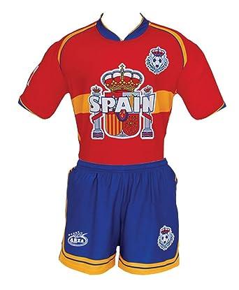 e483f67f9be Amazon.com: Spain Arza Youth Soccer Uniform: Clothing