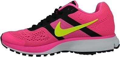 Nike Air Pegasus + 30 Rosa/Negro Zapatillas de Running para Mujer, (Hyper Pink/Volt Black), 9 B(M) US: Amazon.es: Zapatos y complementos