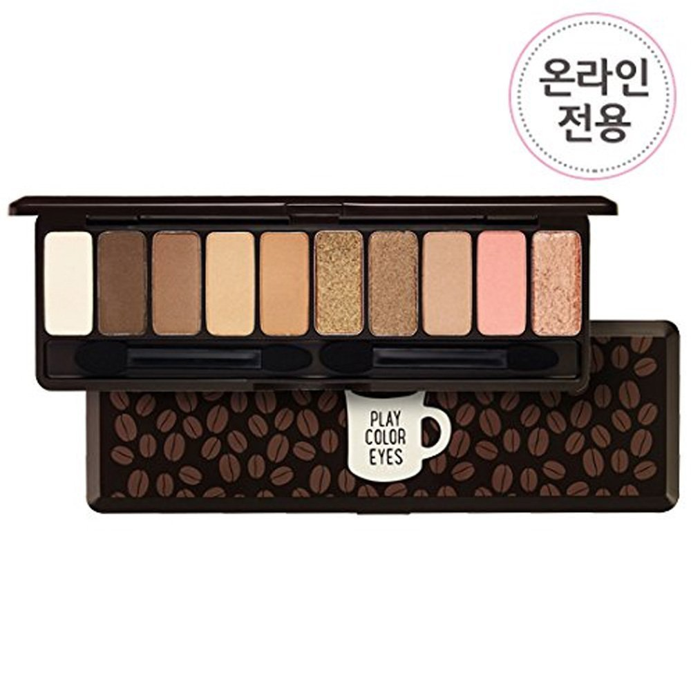 Etude House Play Color Eyes in the Cafe 10 Colors Eye Shadow Palette