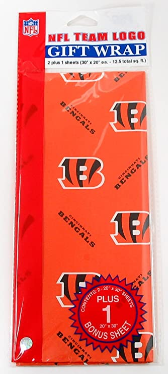 45c760c15e7 Amazon.com   NFL Atlanta Falcons Wrapping Paper   Sports   Outdoors