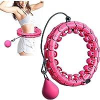 """Smart Fitness Circle, verstelbare maat, 52"""", Indoor Aerobic Fitness voor slimme Hula Hoop voor mannen en vrouwen…"""