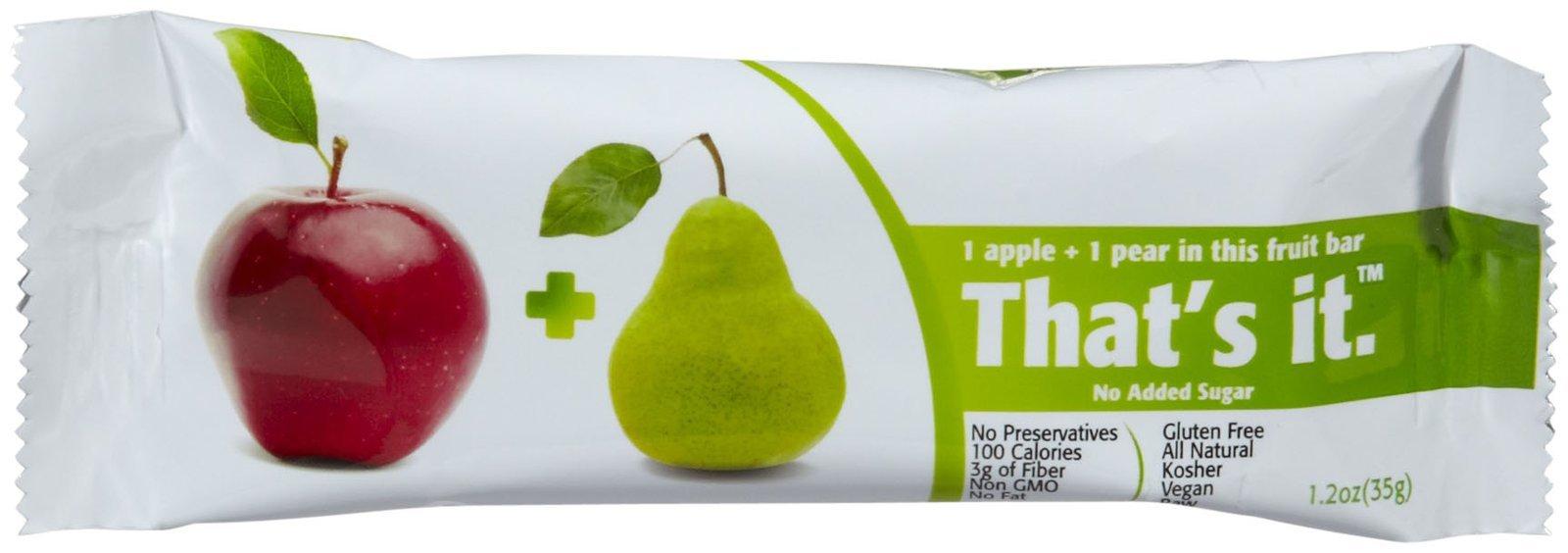 That's It Fruit Bars - Apple & Pear - 1.2 oz