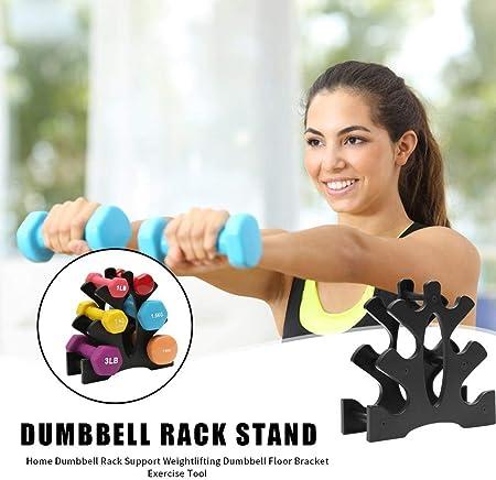 3 Tier Dumbbell Storage Organizer Rack Tree Holder Stand Bracket Support Weight