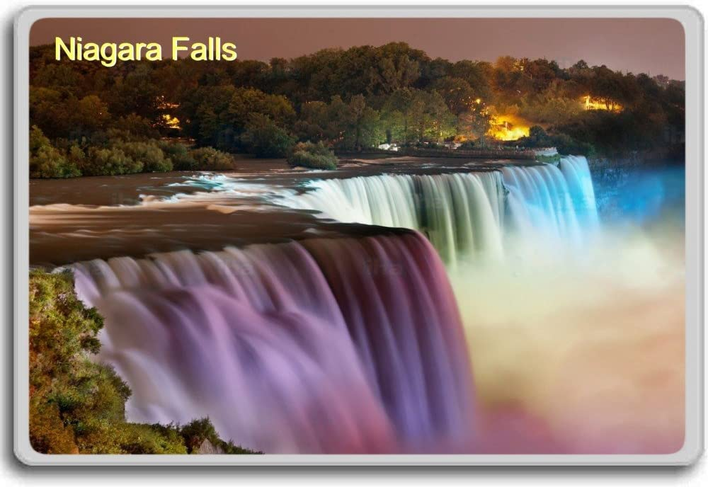 Niagara Falls at night fridge magnet
