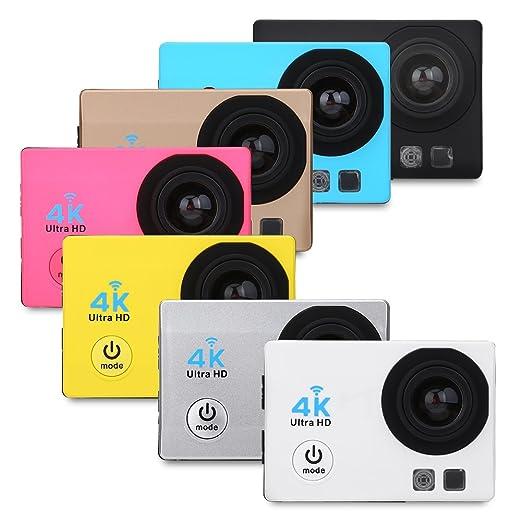 Amazon.com: 4 K WiFi Full HD 1080p cámara deportiva ...
