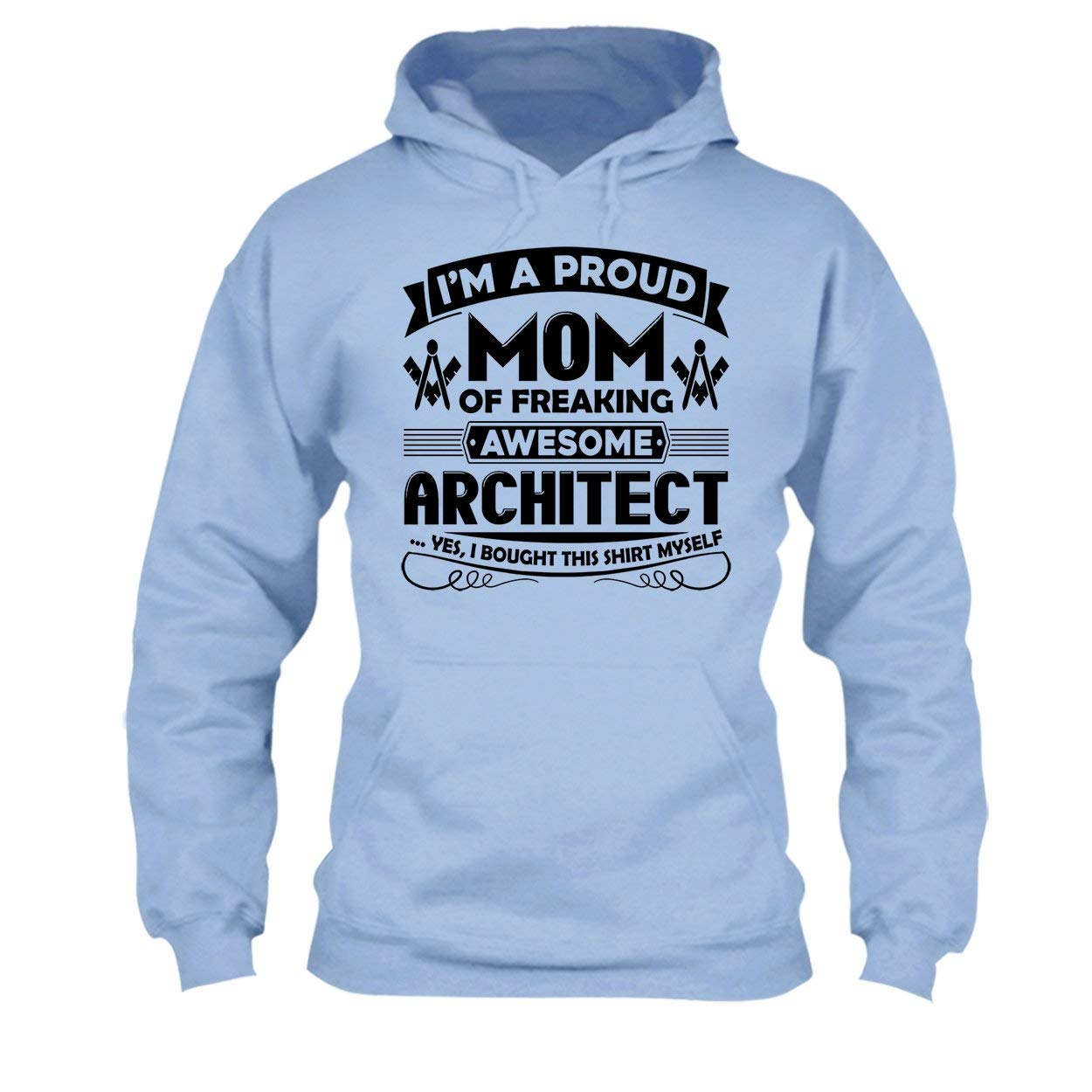 Long Sleeve Shirt Proud Architect Mom Tee Shirt Design