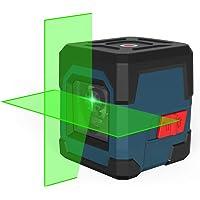 Kruislijnlaser, RockSeed Groene Zelfbalancerende Laserniveau 15M ± 0,2 mm/m, IP54 stof- en waterbescherming Horizontaal…