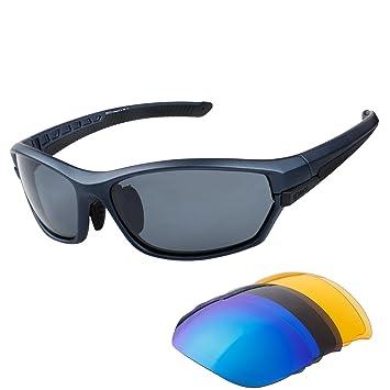 Lunettes de soleil Anti-UV Ultra - léger pour cyclisme Course, Conduite, Moto,Le golf,Les Activités de Plein Air