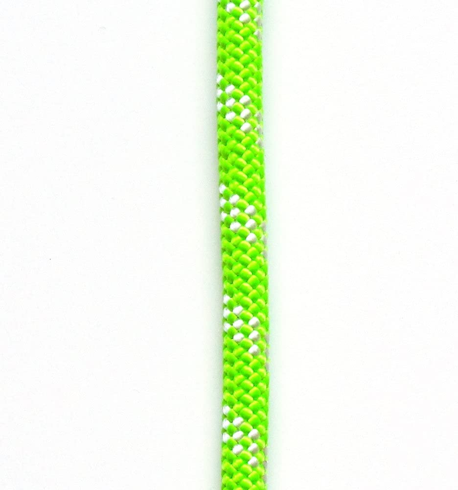 Amazon Com Omniprogear Opg Atar Static Kernmantle Rescue Rappelling Rope 11mm X 100 Feet Lime Green Ul Ansi Nfpa Usa Sports Outdoors