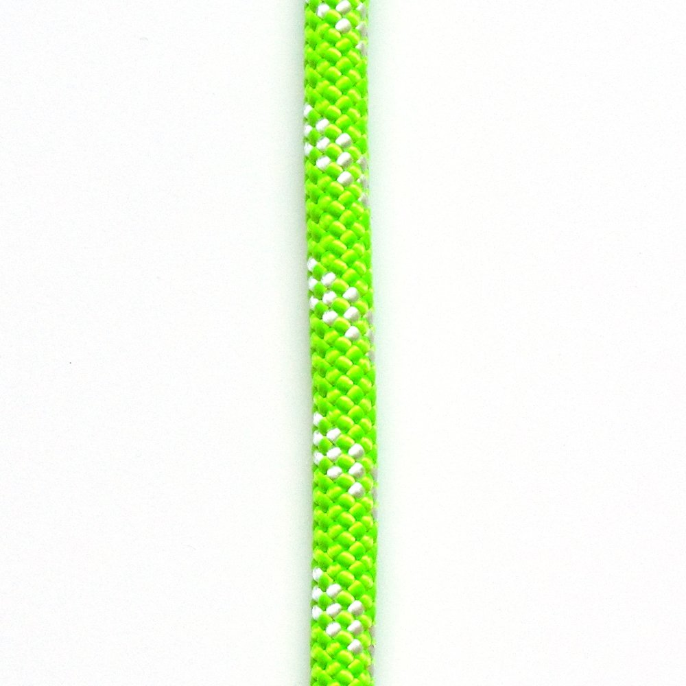OmniProGear OPG ATAR static kernmantle rescue rappelling rope 11mm x 50 feet Lime Green UL ANSI NFPA USA