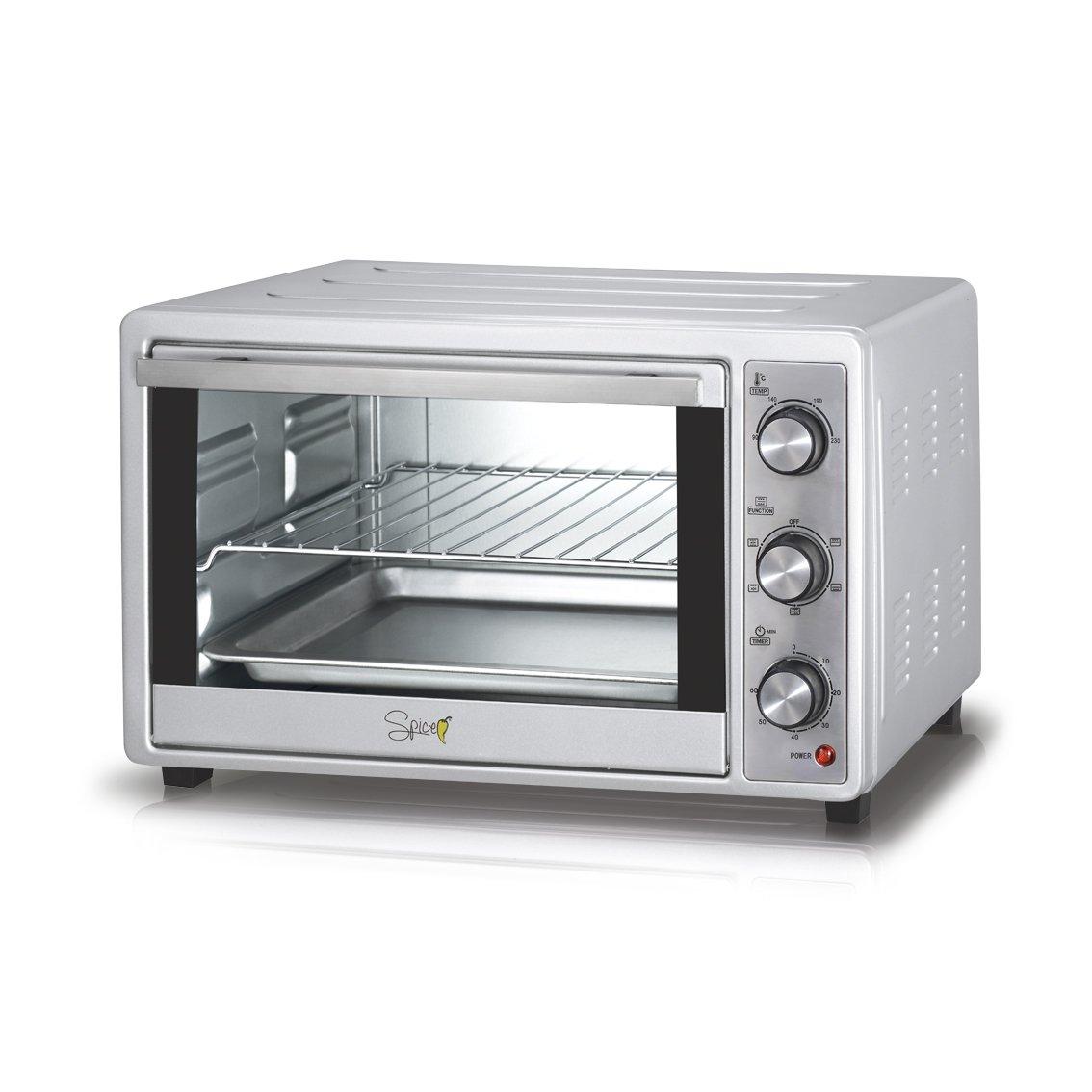 Spice - Cayenna, horno eléctrico ventilado de 28 litros, doble ...