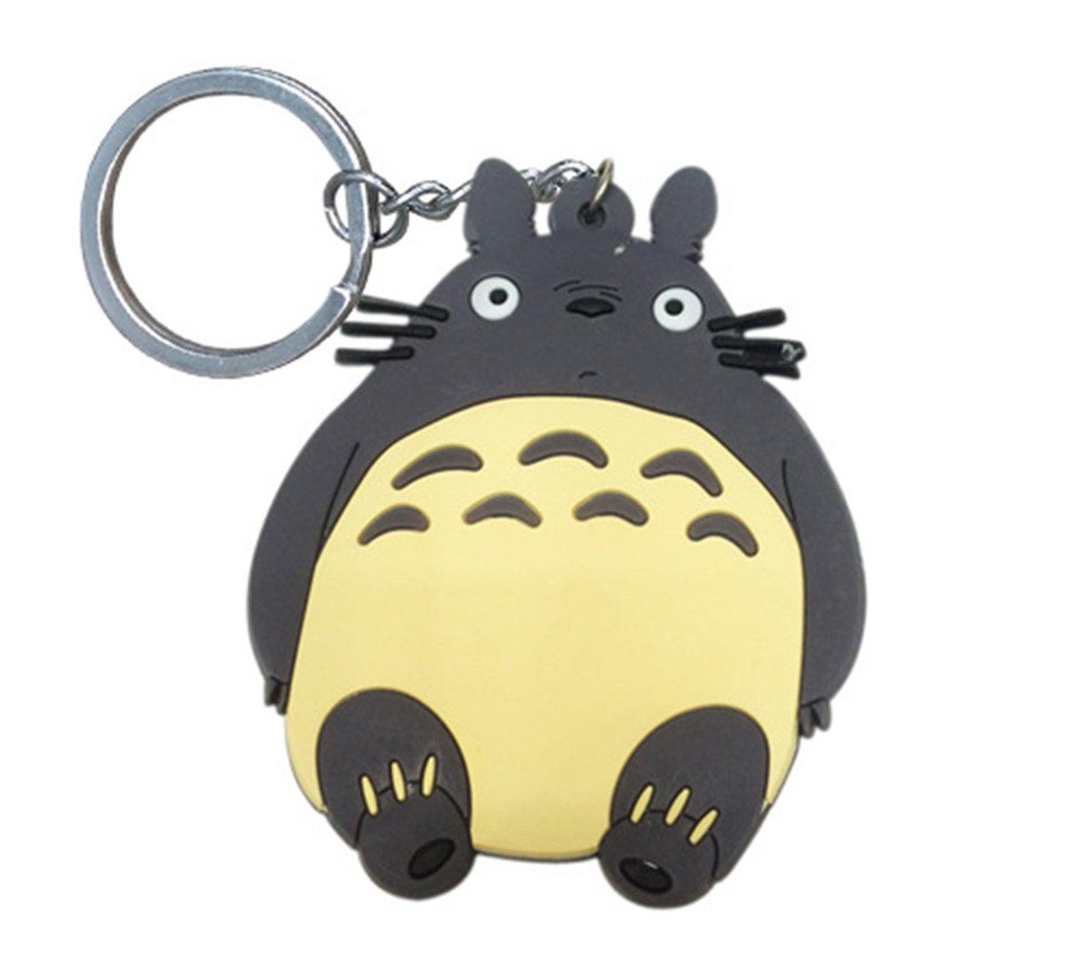 1pc Cartoon Totoro Keychain Key Ring Backpack Decors Birthday Festival Gift