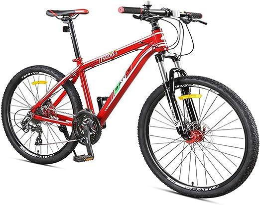 NENGGE 27 Velocidades Bicicleta Montaña, Adulto Hombres Mujeres ...