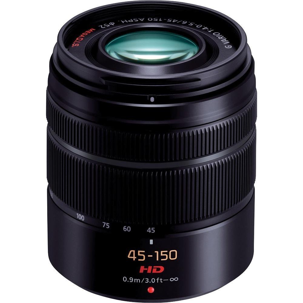 Panasonic H-FS45150K Lumix G Series Lens (Black)