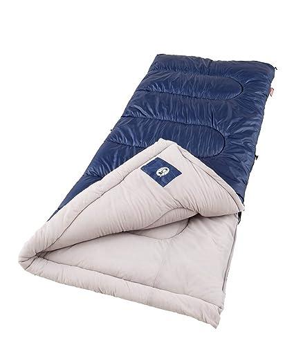 Amazon.com: Coleman Saco de dormir clima frío 40 A 20 grados ...