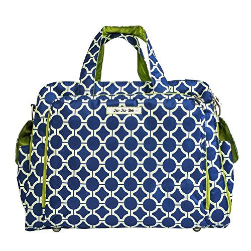 JuJuBe Be Prepared Travel Carry-on/Diaper Bag, Classic Collection - Royal Envy