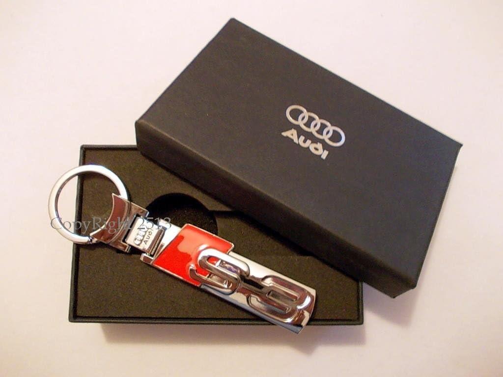 Audi S3 A3 RS3 Serie 3 Portachiavi KeyRings Porte-cl/és Llaveros Chiavi