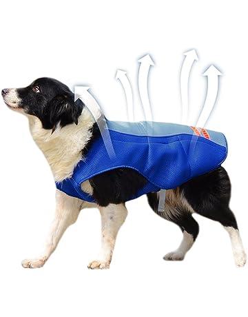 7b62f5e8ba72 Petacc Dog Cooling Vest Outdoor Dog Cooler Harness Breathable Pet Cooling  Coat Sun-proof Dog