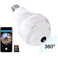 Camera, Include 16GB Card 1080P WiFi Security Camera, 2MP Wireles IP LED Cam,360 Degrees Panoramic VR Home Surveillance…