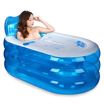 Amazon.com: Inflable tina baño tina de adultos – Bañera ...