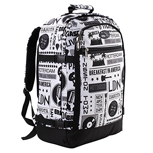 Stereo Pack - Cabin Max Metz Backpack Flight Approved Carry on Bag - 22x16x8