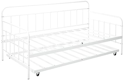 Amazon.com: Zinus Florence Twin Daybed and Trundle Frame Set
