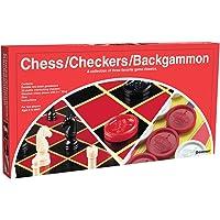 Pressman Toy - Set de Ajerdrez, Backgammon, Damas