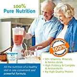 allOne Multiple Vitamin & Mineral Powder, For Active Seniors | Once Daily Multivitamin, Mineral & Amino Acid Supplement w/ 4g Protein | 66 Servings
