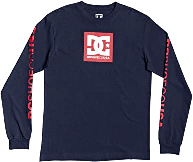 DC Shoes Square Star - Camiseta de Manga Larga para Niños 8-16 ADBZT03128