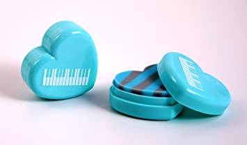 Gomme en boite de cœur boîte lot de 10 beau cadeau pour musicien