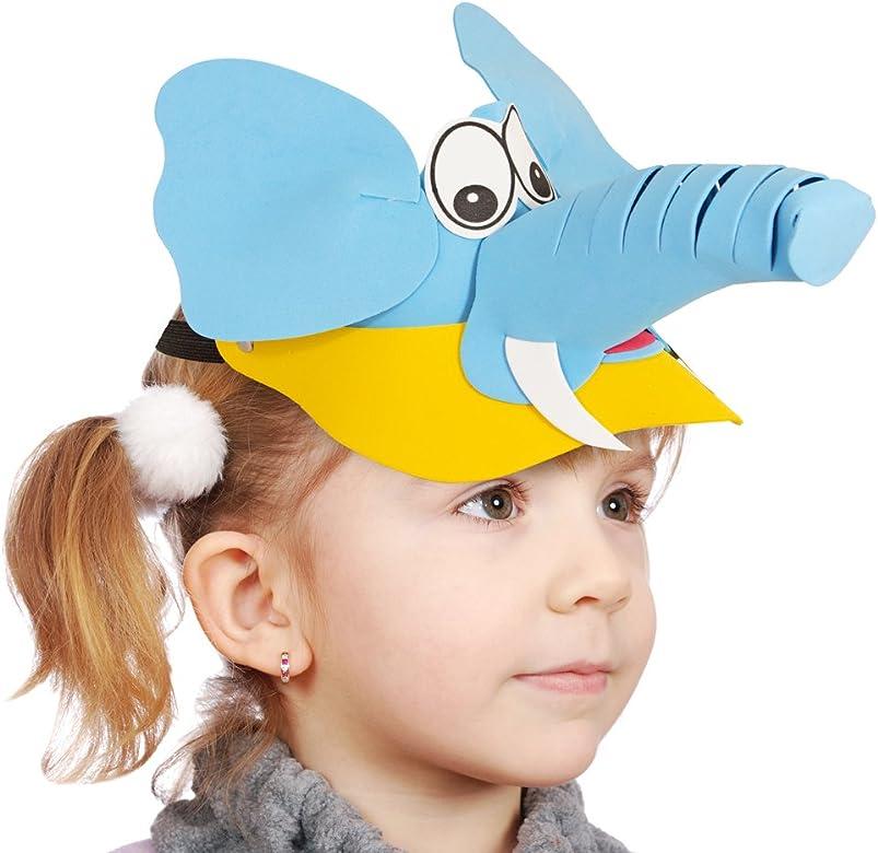 El Disfraz País – Sombrilla para niños – Divertido Cap Protección ...