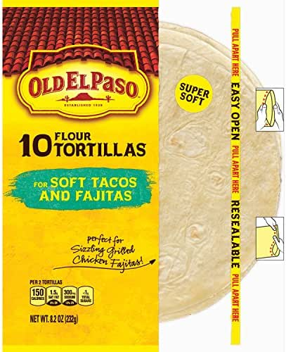 Mexican Meals & Taco Kits: Old El Paso Flour Tortillas