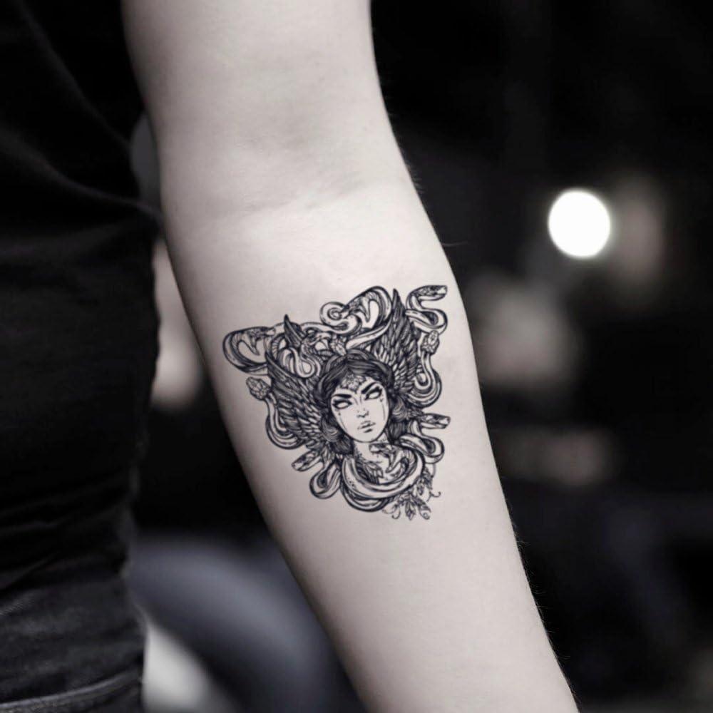 Tatuaje Temporal de Medusa (2 Piezas) - www.ohmytat.com: Amazon.es ...