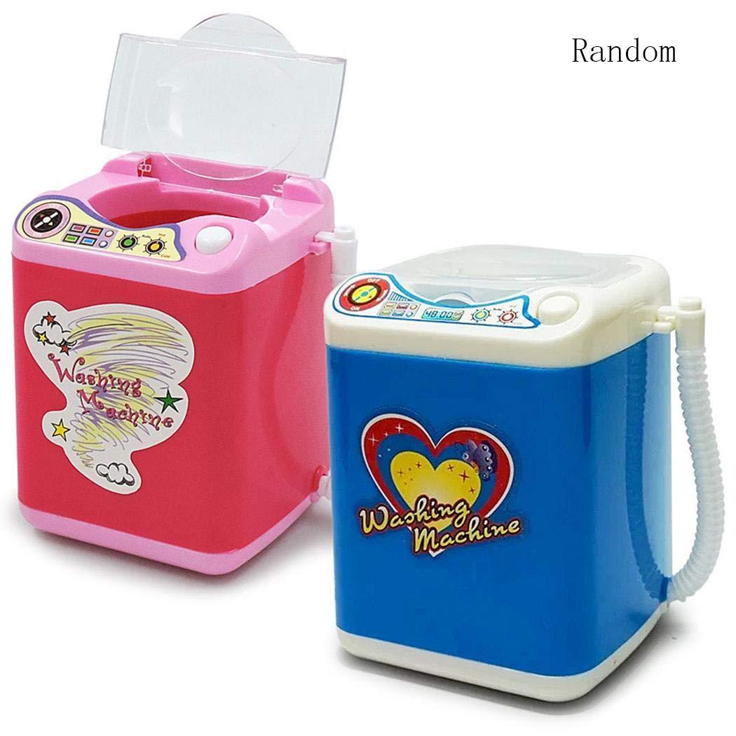 Ladiy Children Washing Machine Toy Mini Simulation Furniture Toys Makeup Brush Cleaner Play by Ladiy (Image #3)